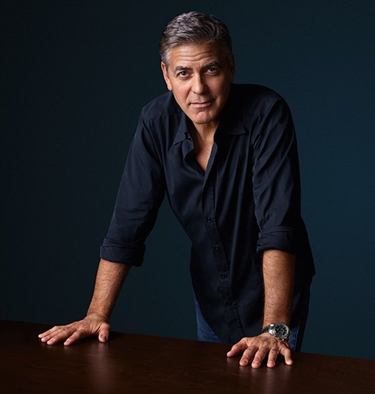 George Clooney and the OMEGA Speedmaster