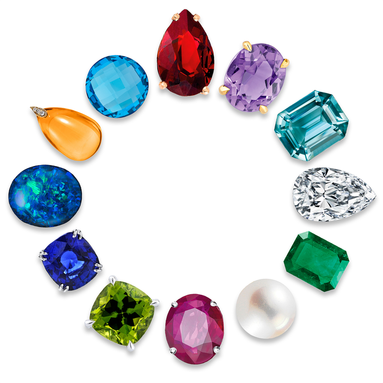 Birthday's & Birthstones
